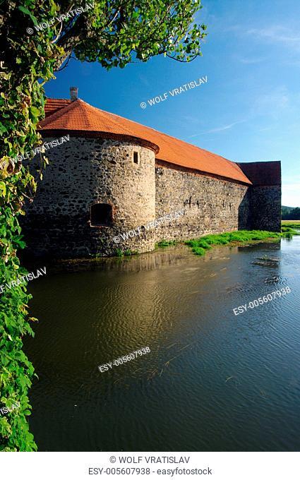 Castle Svihov, the western Bohemia, Czech republic