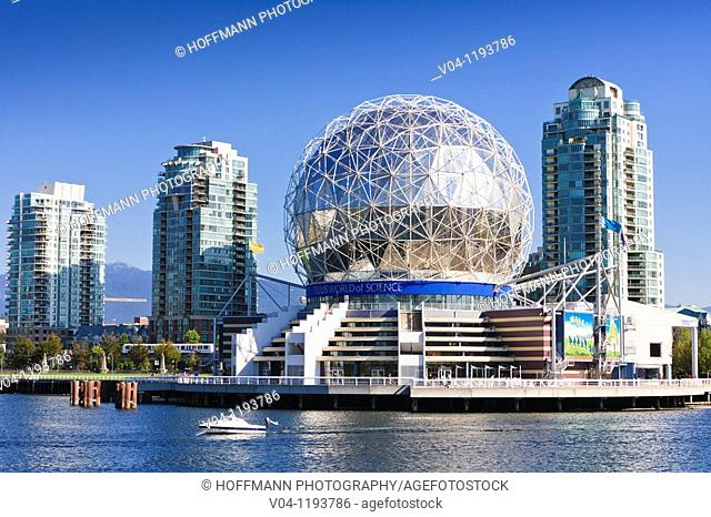 Science World Center in Vancouver, British Columbia, Canada