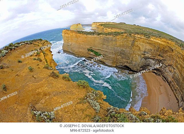 Cove off Southern Australia, Great Ocean Road