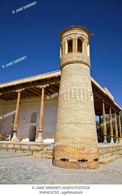 Baha-ud-Din Naqshband Bukhari Mausoleum architectural complex, Bukhara, Uzbekistan