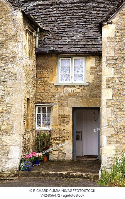 Stone House, Lacock Village, Cotswolds District, Wiltshire County, England