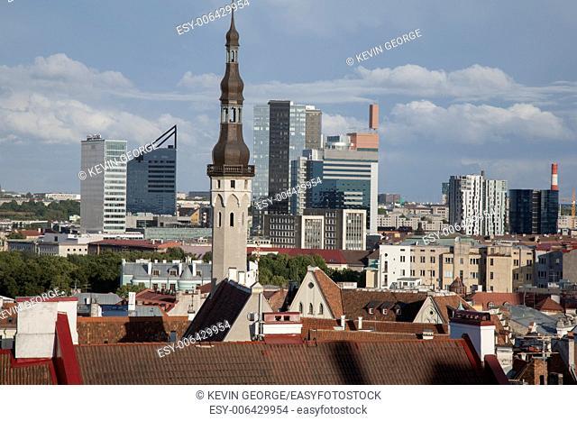 Cityscape, Tallinn, Estonia