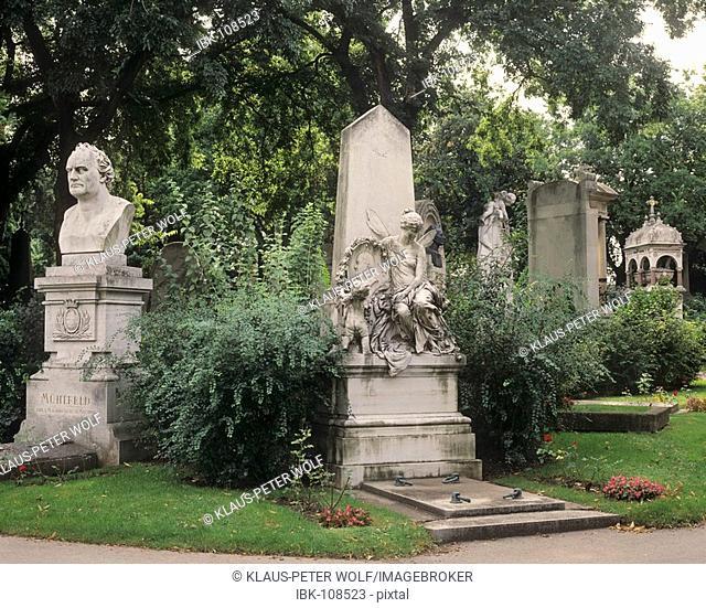 Old graves - Central cementary - Vienna - Austria