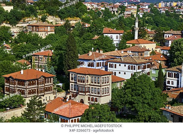 Turkey, Safranbolu, old Ottoman town houses, Unesco world heritage