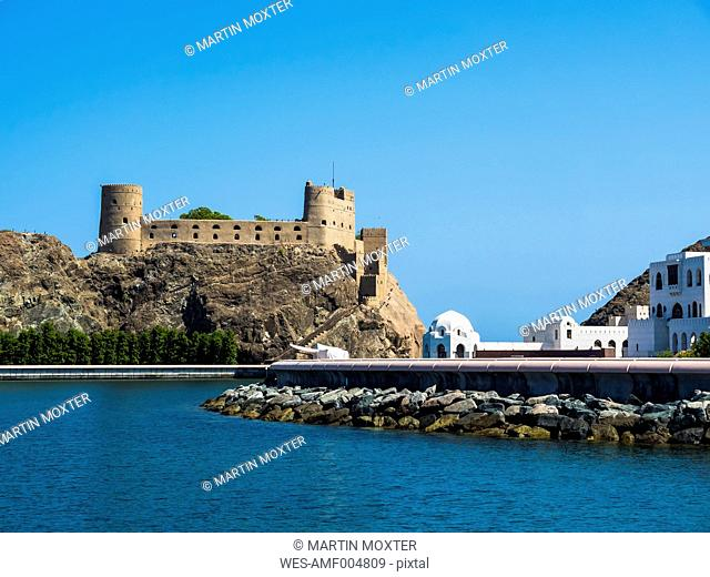 Oman, Muscat, Fort Al Jalali and Government Palace