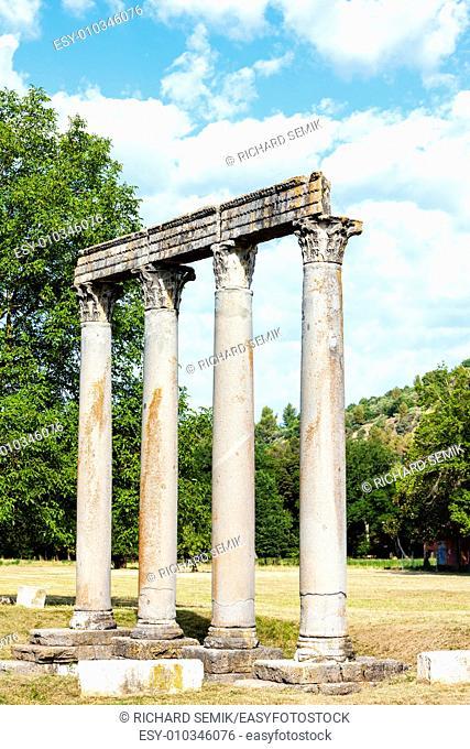 Roman Temple, Riez, Provence-Alpes-Cote d'Azur, France