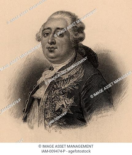 Louis XVI 1754-1793 king of France from 1774, brought to trial by the revolutionary National Convention, December 1792  Guillotined 21 January 1793  French...