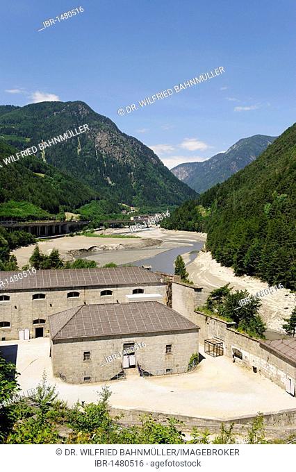 Franzensfeste or Fortezza village, Eisacktal valley, Southern Tyrol, Italy, Europe