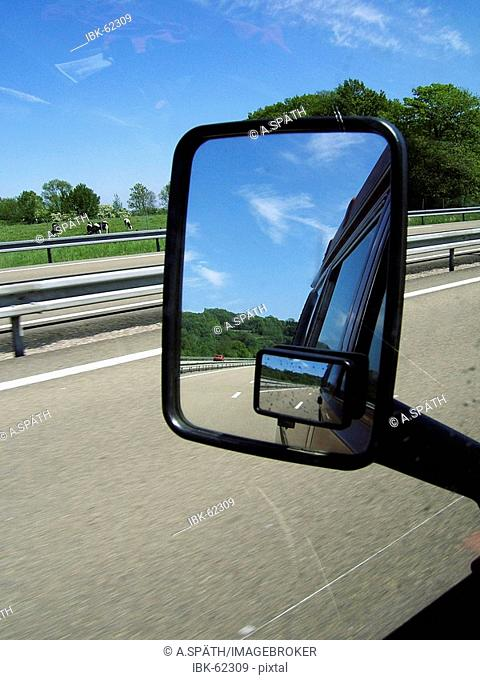 Look back in the rear view mirror