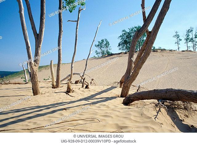 Michigan. Sleeping Bear Dunes National Lakeshore