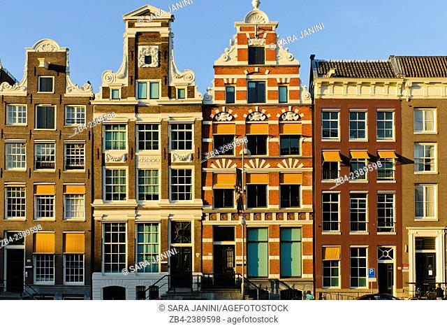 Dutch houses, Amsterdam, Netherlands, Europe