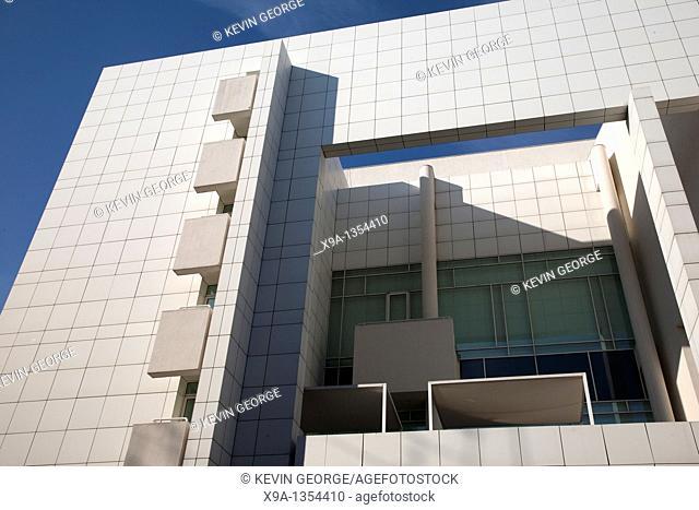 Facade of MACBA Contemporary Art Museum, Barcelona, Catalonia, Spain