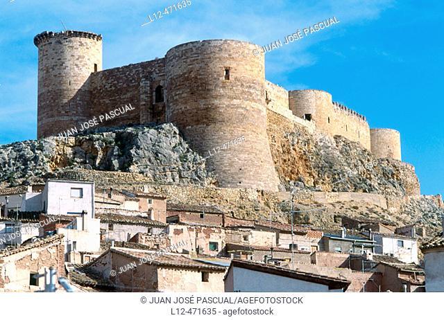 Castle (14th century), Mesones de Isuela. Zaragoza province, Aragón, Spain