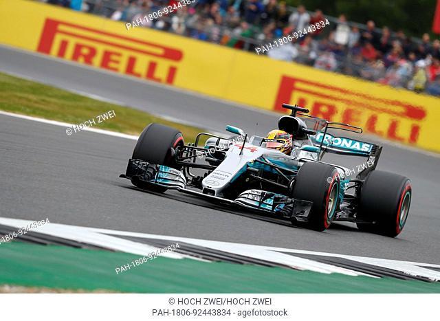 Motorsports: FIA Formula One World Championship 2017, Grand Prix of Great Britain, #44 Lewis Hamilton (GBR, Mercedes AMG Petronas F1 Team), 15.07.2017