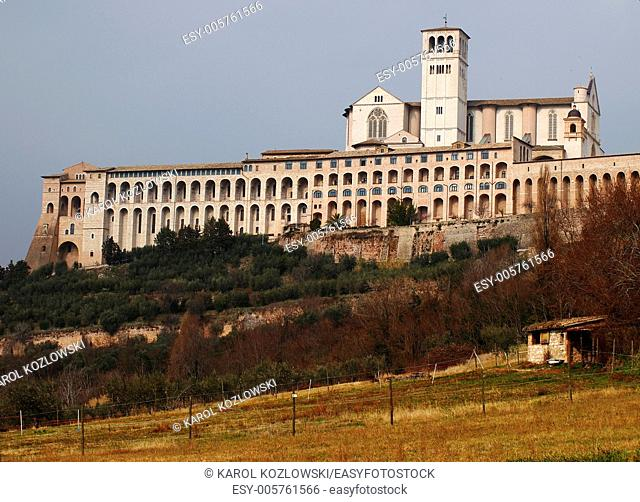 Assisi, town of Saint Francis and beautiful architecture
