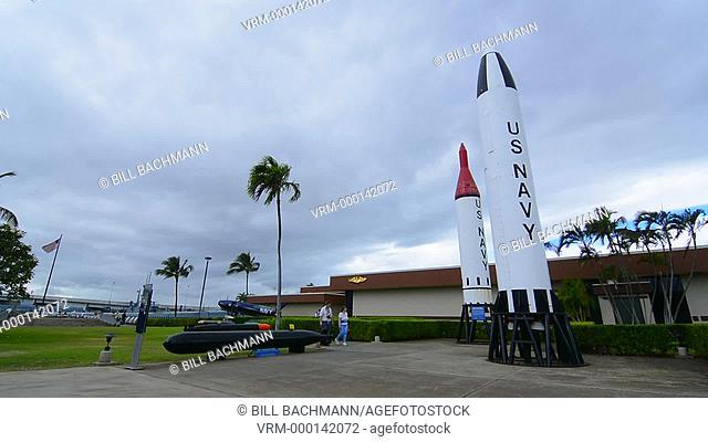 Honolulu, Hawaii Pearl Harbor Memorial war dead Japan bombing Navy missles