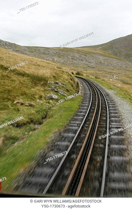 snowdon mountain railway north wales great britain
