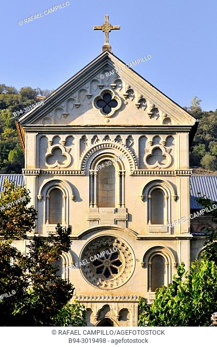 The Council Seminary of La Seu d'Urgell, large building built in 1860, designed by Roman Samsó and promoted by Bishop Josep Caixal