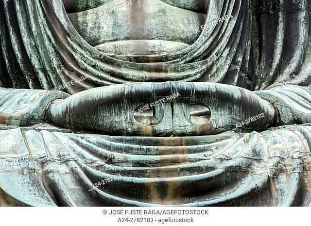 Japan, Kamakura City, Daibutsu Buddha, Great Buddha