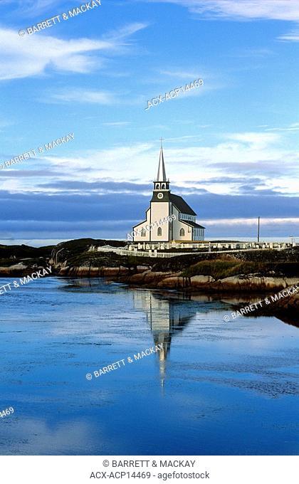 Church, Newtown, Newfoundland, Canada, religion