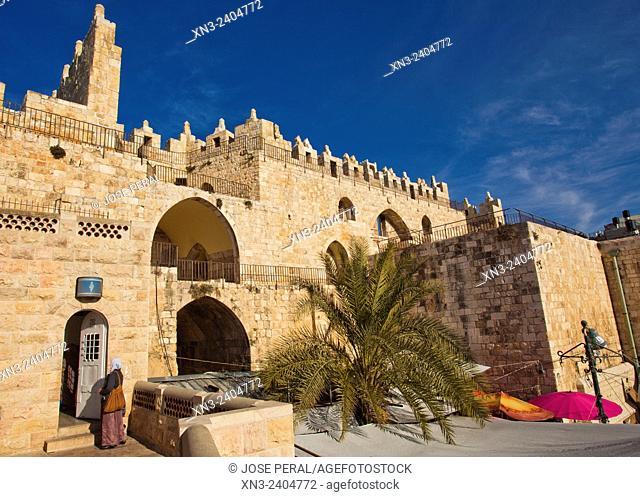Damascus Gate, Old City, Jerusalem, Israel
