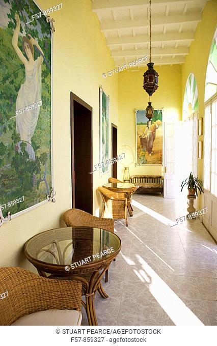 Hotel del Admirante, Mahon, Menorca, Balearic Islands, Spain