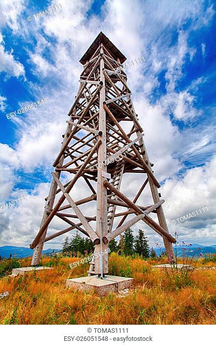 Lookout tower in Slovakia - Luby
