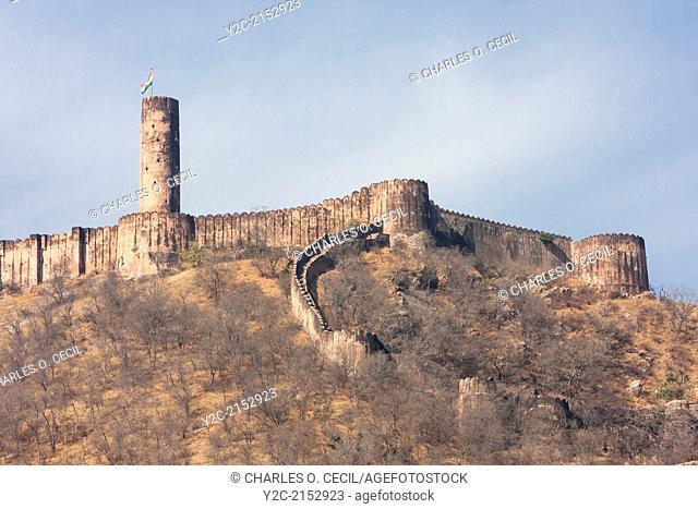 Jaigarh Fort, near Jaipur, Rajasthan, India