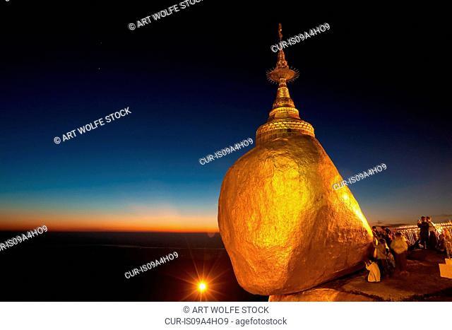 Kyaiktiyo Pagoda, Mon State, Myanmar