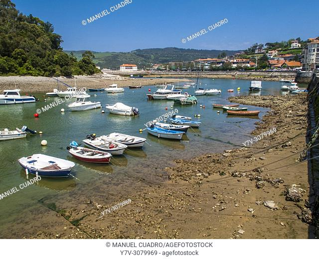 Ria, Plencia, Biscay, Basque Country, Spain