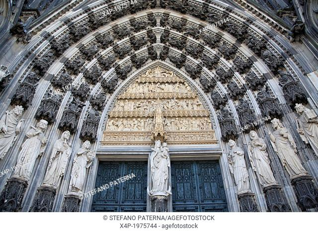 Main Portal , Cologne Cathedral, Germany