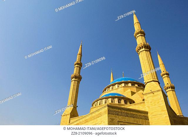 Muhammad Al Amin Mosque downtown Beirut Lebanon Middle East