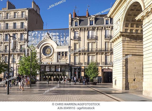 Porte Guillaume Place Darcy Dijon Cote-d'Or Bourgogne-Franche-Comte France