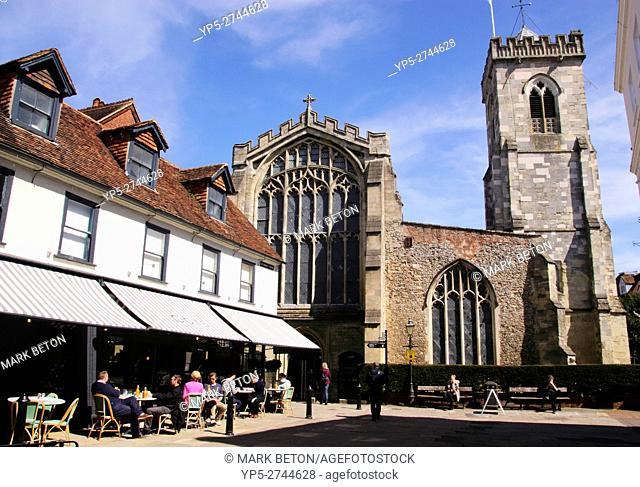 St Thomas's Square Salisbury Wiltshire