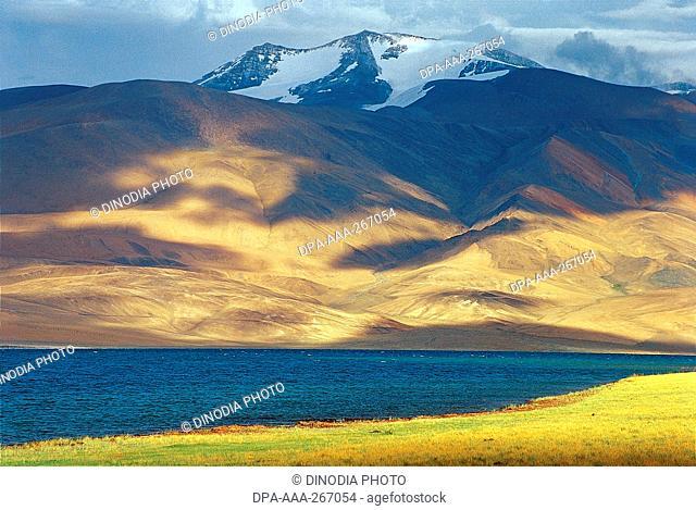 Lake on Kailash Mansarovar trek Tibet