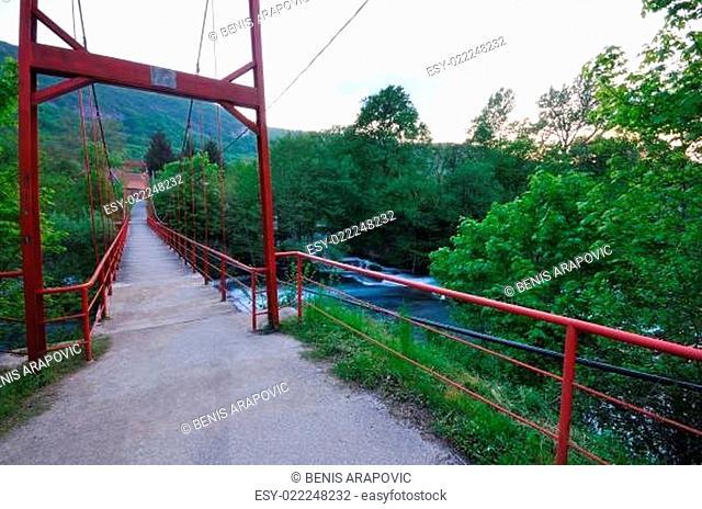 bridge river wild