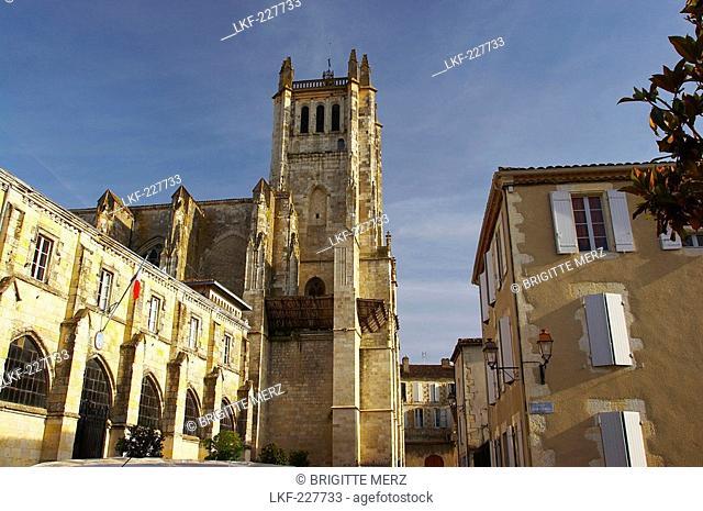 St. Pierre Cathedral, The Way of St. James, Road to Santiago, Chemins de St. Jacques, Via Podiensis, Baise, Condom, Dept. Gers, France, Europe