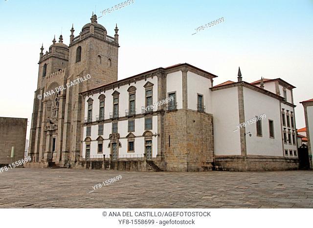 Cathedral in Porto, Portugal