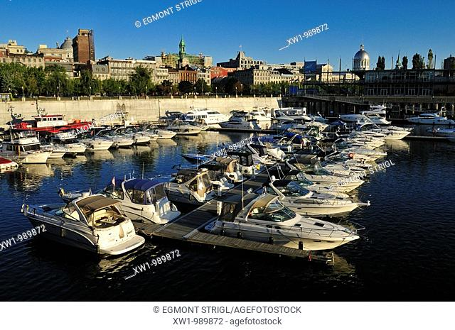 Vieux Port, Harbour of Montreal, Quebec, Canada, North America