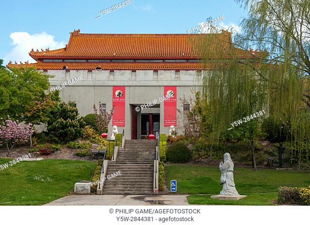Gum San Chinese Heritage Centre at Ararat in the historic goldfields of western Victoria, Australia