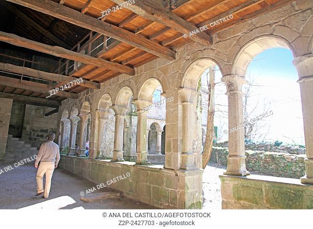 Monasterio benedictino de Santa Cristina de Ribas de Sil, monastery in Lugo Spain