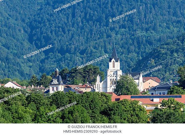 France, Ain, Pays de Gex, city of Gex, Saint Peter church