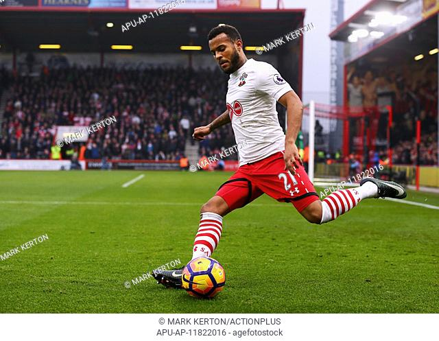 2016 Premier League Football AFC Bournemouth v Southampton Dec 18th. 18.12.2016. Vitality Stadium, Bournemouth, England. Premier League Football