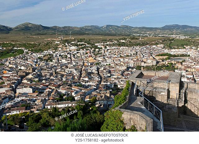 Panoramic view, Alcala la Real, Jaen-province, Spain