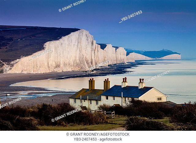 The Seven Sisters Country Park, Seaford, Sussex, UK