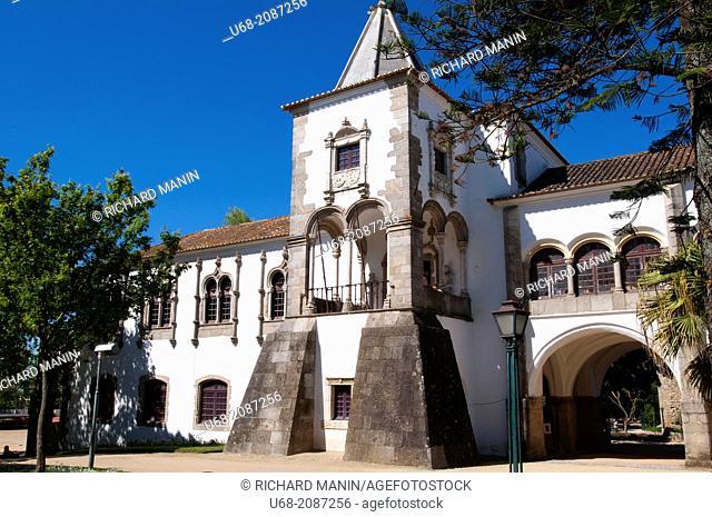 Royal palace of D. Manuel I, Evora, World Heritage of UNESCO, Alentejo, Portugal