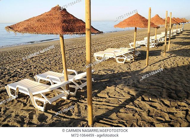 Playa de Torrox Costa, Malaga, Andalucia, Spain
