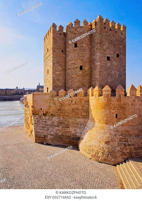 Torre de la Calahorra - Calahorra Tower on the Roman Bridge in Cordoba, Andalusia, Spain