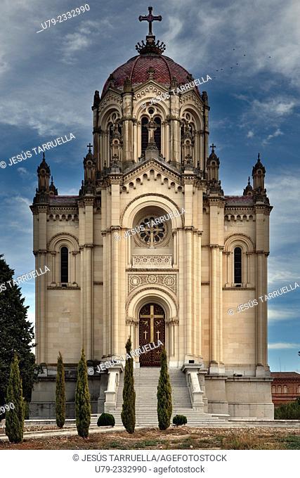Mausoleum of the Countess de la Vega del Pozo and Duchess of Sevillano. Guadalajara. Spain. Europe