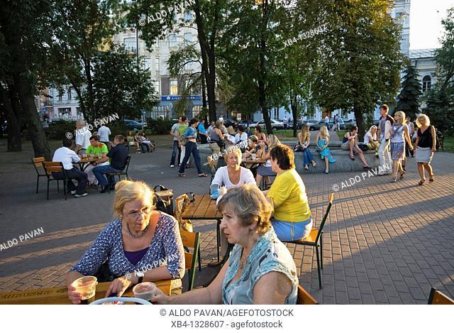 Ukraine, Kiev, Kontraktova square